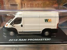 GREENLIGHT 1:43 SCALE 2018 RAM PROMASTER 2500 VAN WASTE MANAGEMENT LIVERY NIP
