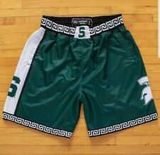 19nine Michigan State 1999-2000 XL Retro College Basketball Shorts Spartans