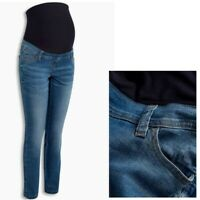 Maternity Next Over Bump Skinny Jeans Blue Sizes 8 - 20