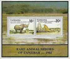Timbres Animaux Tanzanie BF39 ** lot 13097