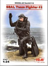 Icm Seal Team Fighter #2 Figure in 1/24 112 St