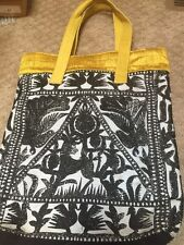 Anthropologie Jasper And Jeera Tribal Folk Art Tote