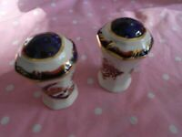 Masons Ironstone Mandalay Pepper Pots one can be used as salt and one as pepper