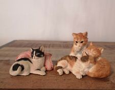 More details for country artists & sherratt&simpson cat small figurines