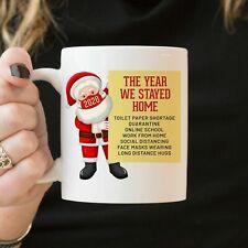 The Year We Stayed Home Coffee Mug -  Staying Home Gift Mug Xmas Gift 2020