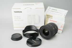 Tamron 10-24mm f/3.5-4.5 Di II VC HLD Zoom Wide Angle Lens, For Canon EF Mount