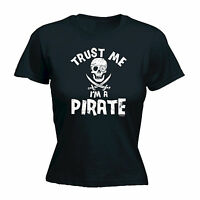 Trust Me Im A Pirate WOMENS T-SHIRT Rum Nerd Alcohol Top Funny Gift birthday