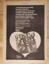 Corazón LITTLE QUEEN 1977 edición anuncio completo Páginas 28 x 38cm Póster