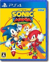 PlayStation 4 Sonic Mania Plus - PS4 SEGA Games Japan import