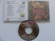 Renaissance Madrigals QUINCK VOCAL QUINTET  80209 CD ALBUM