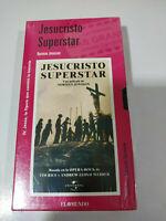 Jesucristo Superstar Norman Jewison Opera Rock - VHS Cinta Español Nueva