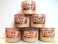 Bath Body Works Slatkin GINGERBREAD Candles, Mini, 1.6 oz., NEW x 6