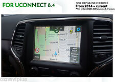 Jeep Grand Cherokee 2013~Current GPS Nav Retrofit with latest 2016 AUS Map