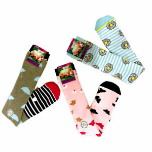 Ladies Thermal wellington Welly Socks winter socks novelty gift