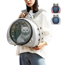 Cat Carrier Backpack Breathable Pet Dog Travel Tote Bag Capsule Bubble Bags Pink