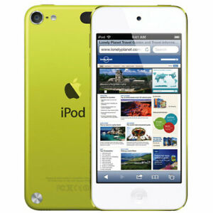 NEW Apple iPod touch 5th Generation Yellow (64 GB) MP3/4 Player - Retail Box