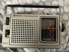 VINTAGE RETRO SANYO RP 7160 3 BAND RADIO RECEIVER