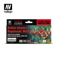 VALLEJO BRITISH INFANTRY NAPOLEONIC WARS 1789/1815 AV70163