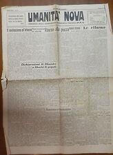 UMANITA NOVA 24 gennaio 1946 Neofascismo Residuati dittatoriali Le riforme di e