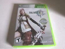 Final Fantasy XIII (Microsoft Xbox 360, 2010) Brand New. Sealed.