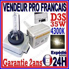 AMPOULE D3S AU XENON 35W KIT HID 12V LAMPE RECHANGE D ORIGINE FEU PHARE 4300K