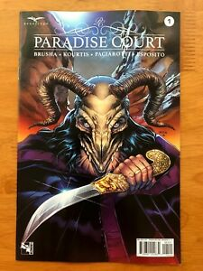 Paradise Court 1 Bong Dazo Cover B Variant Zenescope 2018 NM+