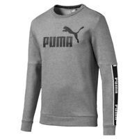Puma Amplified Crew FL Felpa Uomo 580429 03 Medium Gray Heather