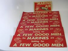 Us Marine Bumpers Stickers – Lot of 6