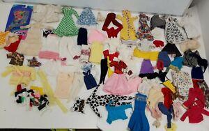 Large Vintage 1980's Bundle Sindy Clothes Job Lot Great fashion Sindy #330