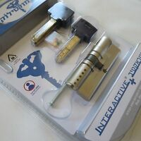 Door Lock Mul-T-Lock INTERACTIVE Cylinder 66mm 31//35 CAM Thumb-Turn Knob Secure