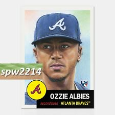 Topps Living Set Ozzie Albies RC #32