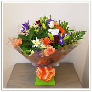 FRESH REAL FLOWERS  Delivered Joyful Bouquet includes Free Delivery