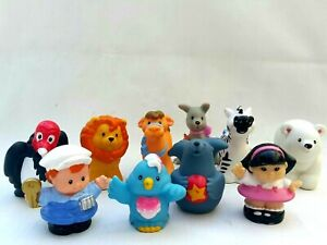 Fisher Price Little People Alphabet Zoo Ark Animals Sonya Lee Truck Driver Toys