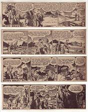 Rusty Riley by Frank Godwin - 26 scarce daily comic strips - Complete July 1950