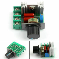 5Pcs Adjustable Voltaje Regulator AC SCR Motor Speed Controlarador 220V 2000W