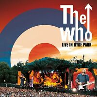 THE WHO - LIVE IN HYDE PARK  (DVD+2CD) 2 DVD + CD NEU