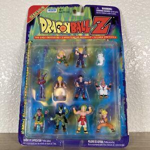 VTG - DRAGONBALL Z Mini Figures Series 5 - 8 by Irwin Toys - 2000 Rare Open Box