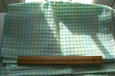 Vtg 1940's 100% Cotton Lightweight Window Pane Doll Dress Fabric