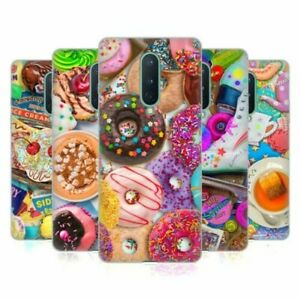 OFFICIAL AIMEE STEWART COLOURFUL SWEETS SOFT GEL CASE FOR AMAZON ASUS ONEPLUS