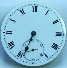 Stauffer Son and Co Chaux-De-Fonds antique pocket watch ticking high grade F2088