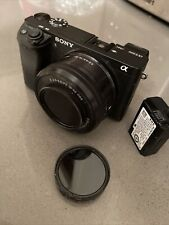 SONY ALPHA A6300 + 3.5-50MM KIT LENS + Extra Battery