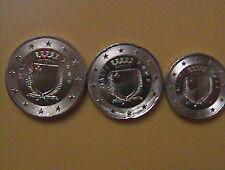 10+20+50 cent Münzen aus Malta 2008