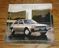 Original 1983 Dodge Colt Sales Brochure 83