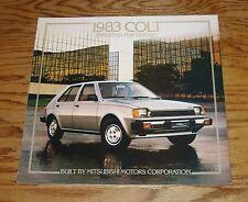 Original 1983 Dodge Colt Sales Brochure 83