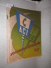 ACI SOCCORSO STRADALE 1957 ACI 1957 libro manuale corso elenco di