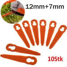 10X Plastic Knife Replacement Blade For PolyCut 2-2 FSA 45 Grass Trimmer Home Lw