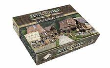 Battle Systems Fantasy Terrain Village Core Set - Modular Card D&D DND WFB THG