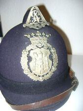 Raupenhelm für Offiziere der Polizei- Gendarmerie Antwerpen um 1910 Original