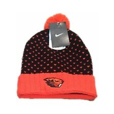 new product d81a5 34585 NWT New Oregon State Beavers Nike Pom DNA Beanie Hat Cap