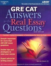 GRE CAT: answers to the real essay questions (TP) Stewa
